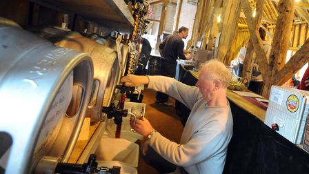 Sproughton Beer Festival will be at the Tithe Barn this weekend. Picture: SU ANDERSON