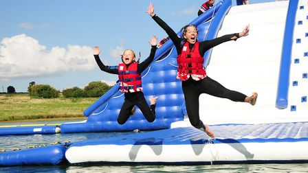 When it opens, the new attraction will be the biggest Aqua Park in the UK. Picture: AQUA PARKS GROUP
