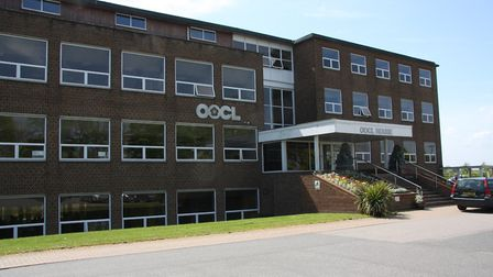 The former Fisons lab building and office block at Levington, made famous by the 'Levington' brand o