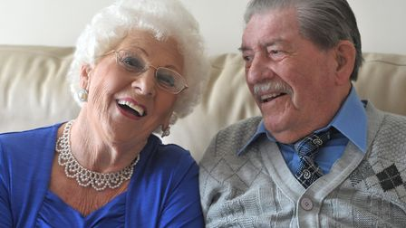 Jean and Joseph Cass are celebrating their platinum wedding anniversary. Picture: SARAH LUCY BROWN