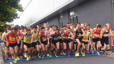 Hundreds of people are set to pound the streets of Ipswich for the first ever split Twilight races e
