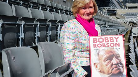 Lady Elsie will be in the audience during the screening at Portman Road of a film about her late hus