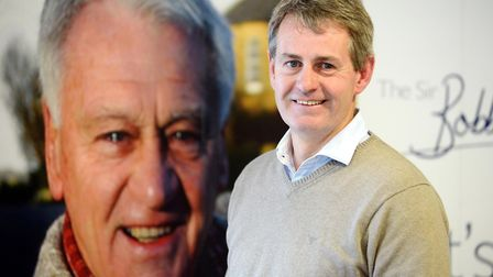 Sir Bobby Robson's son Mark Robson features in the movie. Picture: SIR BOBBY ROBSON FOUNDATION
