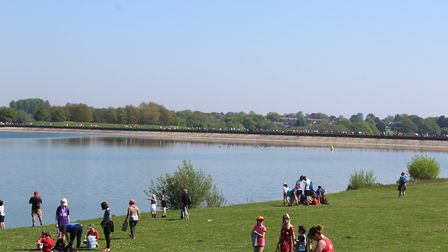 The Alton Water Run raises money for nearby schools. Picture: ROSEMARY BUTLER