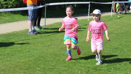 The Alton Water Run was open to people of all ages. Picture: ROSEMARY BUTLER