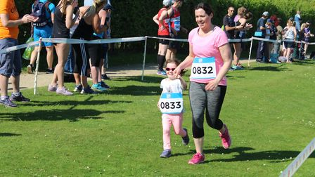 Runners of all ages took part in the Alton Water Run 2k. Picture: ROSEMARY BUTLER