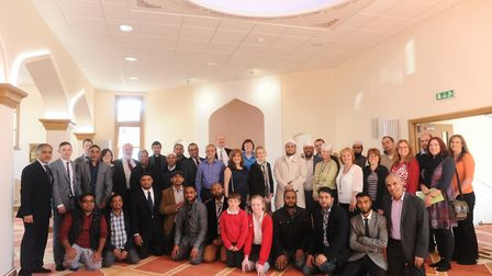 The grand opening of the Shahjalal Islamic Centre and Masjid in Ipswich. Picture: LUCY TAYLOR