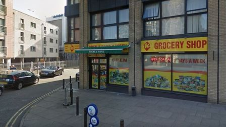 The Iki grocery store in Franciscan Way, Ipswich, where Hedi Ibrahim sold more than £100,000 of ille