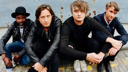 The Libertines. Picture: ROGER SARGENT