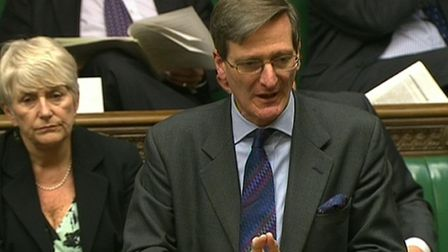 Conservative Dominic Grieve speaks in the House of Commons Photo: PA
