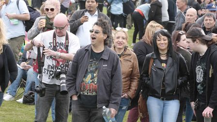 The May Day fair is at Alexandra Park this weekend. Picture: NIGEL BROWN