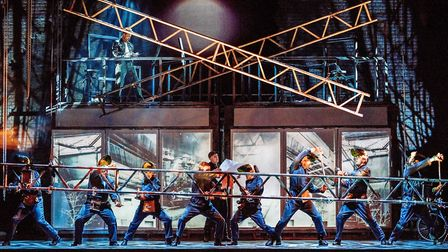 Flashdance - The Musical. Picture: BRIAN HARTLEY