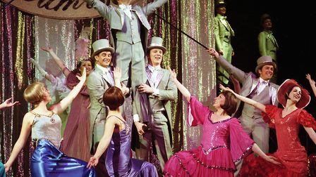 1999: A colourful scene from the Ipswich Operatic Society's production of 42nd Street at the Ipswich