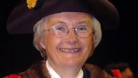 Inga Lockington when she was appointed as the Mayor of Ipswich in May 2007 Picture: RICHARD SNASDELL