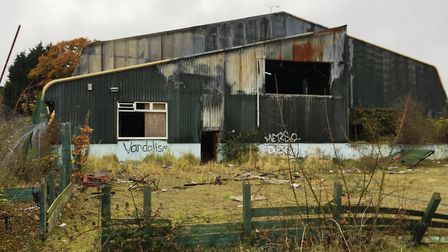 The former Thurleston Cricket Centre has been vandalised over the years Picture: LNT CONSTRUCTION
