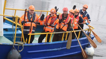 Fresh Start New Beginnings are holding a dragon boat race this weekend. Picture: GREGG BROWN