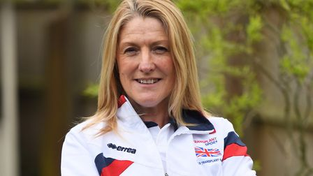 Michelle Mitchell, from Felixstowe, is representing Great Britain in the World Transplant Games P