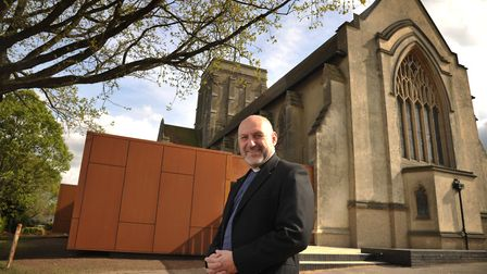 Reverend Trevor Golding, vicar of St Augustines Church. Picture: SARAH LUCY BROWN