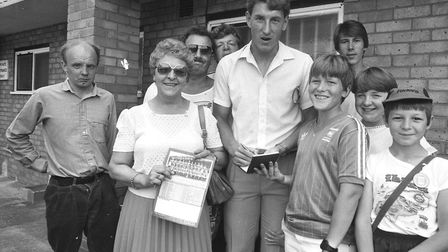 Fun Day at Portman Road in 1986 Picture: ARCHANT