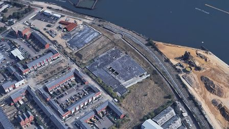 Land off Discovery Avenue in Ipswich will be transformed into 113 homes Picture: GOOGLE EARTH