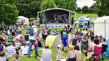 Bumper crowds were drawn to all of the stages at Ipswich Music day in 2016 Picture: PETER CUTTS