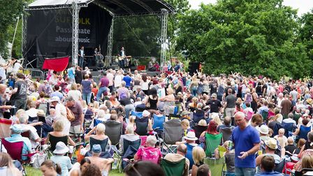 Around 40,000 people are set to descend on Christchurch Park on Sunday for Ipswich Music Day Picture