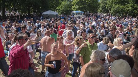 Ipswich Music Day is said to generate thousands of pounds for the economy Picture: ASHLEY PICKERING