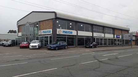 Donalds motor dealership site in West End Road is for sale with a guide price of �1.65m Picture: DAV