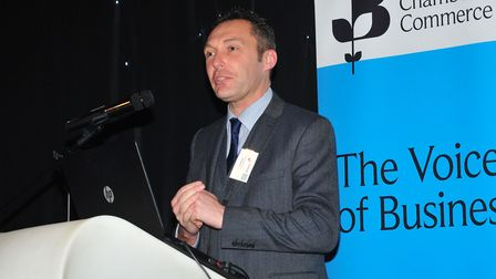 Suffolk Chamber chief executive John Dugmore attended the meeting on Wednesday Picture: DAVID GARRAR