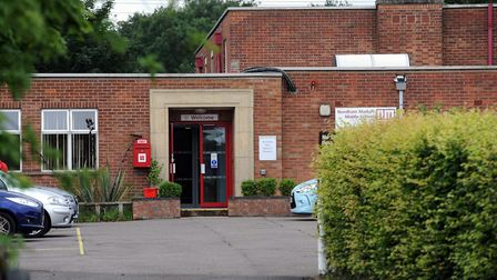 Plans for the former Needham Market Middle School are being unveiled to residents Picture: PHIL MORL