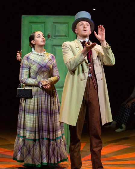 A scene from the Co-op Juniors Theatre Company production of Barnum Picture: MIKE KWASNIAK