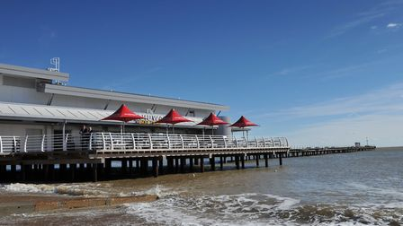 Felixstowe Pier. Picture: SARAH LUCY BROWN