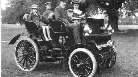TOne of the first cars in Ipswich, and the first to be registered, belonged to Colonel William Prett