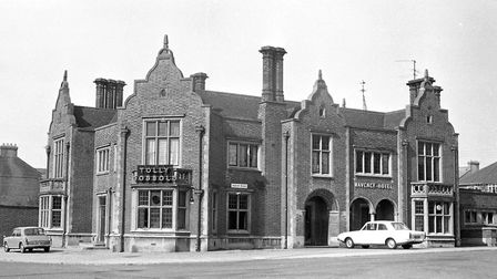 Waveney Hotel pub in 1974 Picture: DAVID KINDRED