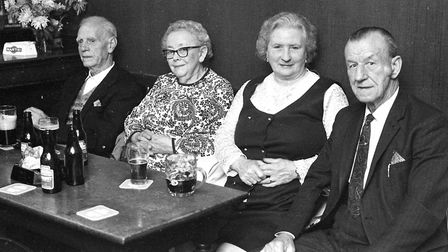 Enjoying a night out at the Waveney Hotel in its heyday Picture: DAVID KINDRED