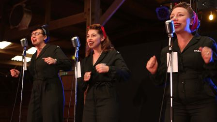 The Three Chordettes. Picture : SEANA HUGHES
