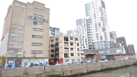 Ipswich Waterfront near Stoke Bridge is in line for a �1m revamp Picture: SU ANDERSON