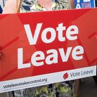 A Vote Leave placard during the EU referendum. Photo: PA / Stefan Rousseau