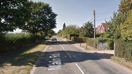 Police are investigating two daytime burglaries in Main Road, Woolverstone Picture: GOOGLEMAPS
