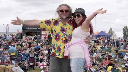 Jimmy's Festival returns this weekend. Pictured, Matt Nixon and Sarah Deamer at last year's event. P