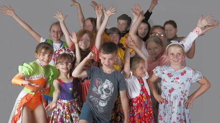 Felixstowe Musical Theatre's Mini Musicality show takes the stage this weekend. Picture: CHRIS CARNE