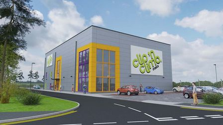 What the Clip 'n Climb centre might look like Picture: BAREFOOT&GILLES