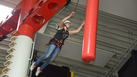 Bosses say it is impossible to get bored at a Clip 'n Climb centre. Picture: ENTRE-PRISES/GAVIN NEWM