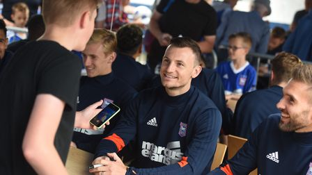 The 2017 Ipswich Town open day. Pictured is Tommy Smith. Picture: GREGG BROWN
