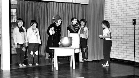 Children of Dale Hall School performing Oliver Picture: OWEN HINES
