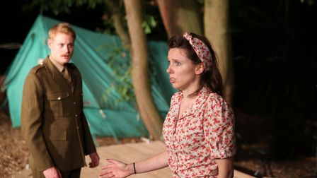 Much Ado About Nothing is this year's Theatre in the Forest production. Picture: DAVID NEWBORN