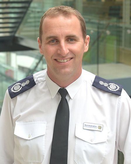 Suffolk's chief fire officer Mark Hardingham. Picture: SUFFOLK COUNTY COUNCIL