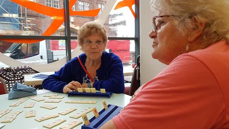 Board games are being used at Ipswich County Library to help tackle loneliness and mental health pro