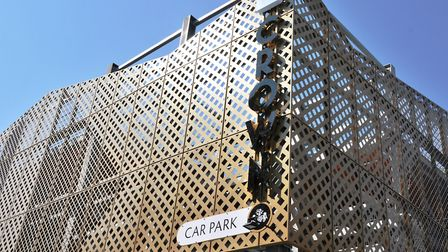 The new Crown Car Park in Ipswich is ready to open. Picture: IPSWICH BOROUGH COUNCIL