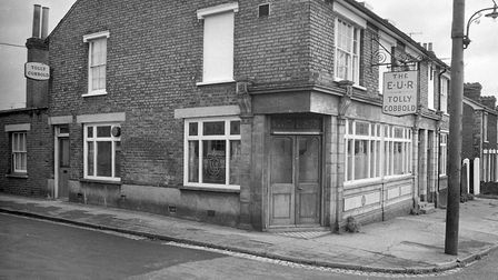 EUR in Croft Street in 1975 Picture: ARCHANT